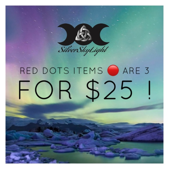 Silverskylight Jewelry - 🔴 All red dots items are 3 for $25 !!